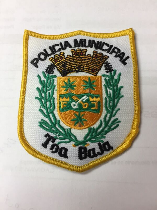 PUERTO RICO POLICE PATCH... TOA BAJA MUNICIPALITY