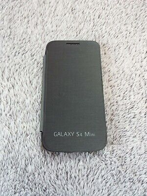 Samsung Galaxy S4 mini FLIP COVER schwarz Schutzhülle i9190 smart case black Mini-flip-cover