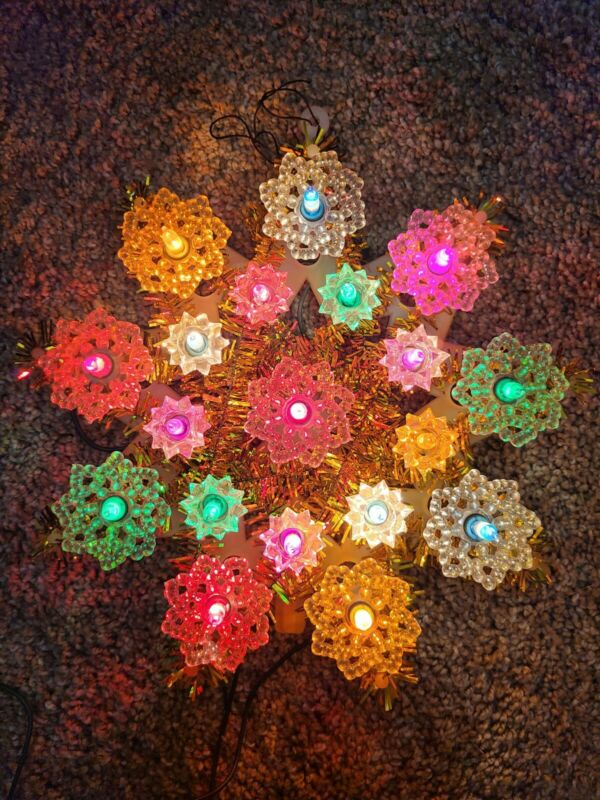Tree Topper Multicolored Lighted Star Sterling Supply
