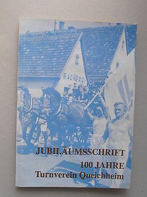 Jubiläumsschrift 100 Jahre Turnverein Queichheim
