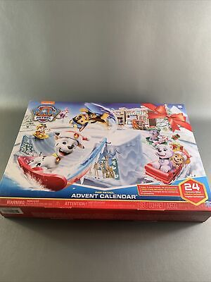 Paw Patrol Advent Calendar With 24 Figurines New In Sealed Box