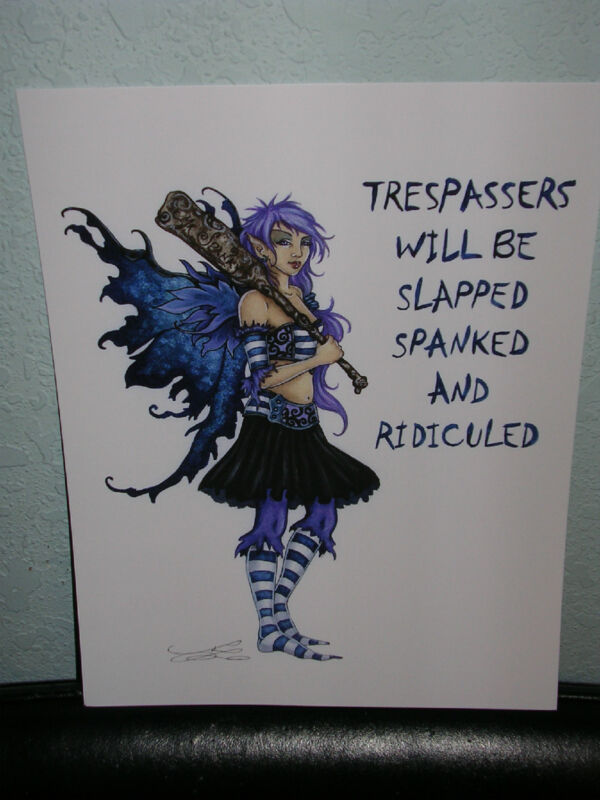 Amy Brown - Trespassers - OUT OF PRINT