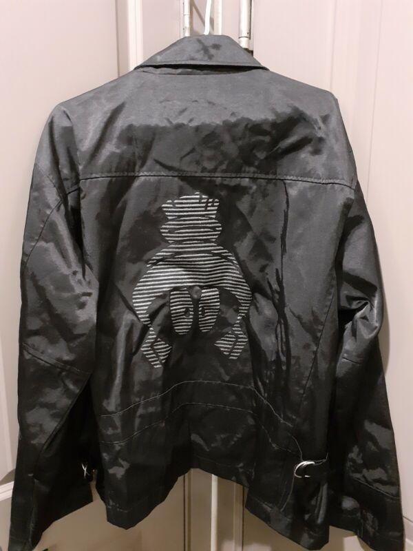 Warner Bros Marvin Martian Nylon Black Jacket   Large