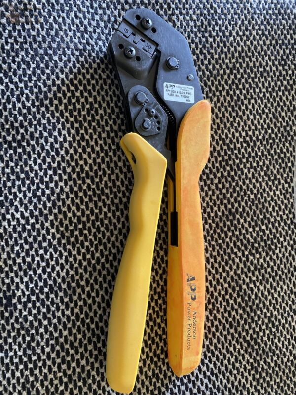 Anderson Power Products 1309G2 - Hand Crimping Tool - PP 15/30 / 20-12 AWG