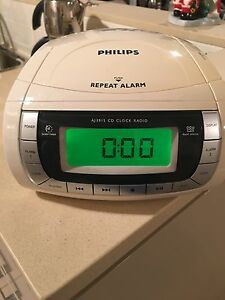 Philips CD Player,Clock & Radio Breakfast Point Canada Bay Area Preview