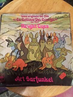 """Art Garfunkel - bright Eyes - 7"""" Vinyl Single,Picture Sleeve"""