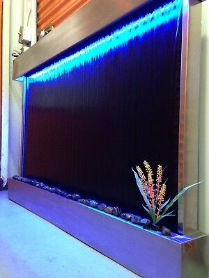 """WALL HANGING WATERFALL 52"""" wide 35"""" tall ,Color changing Lights , Remote Ctrl"""
