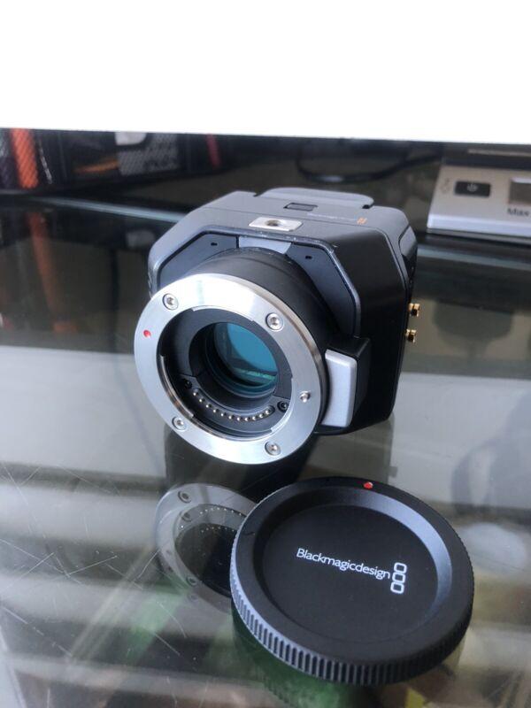 Blackmagic Design Micro Studio Camera 4K MFT Mount - Good ++ w/ Battery 2.1