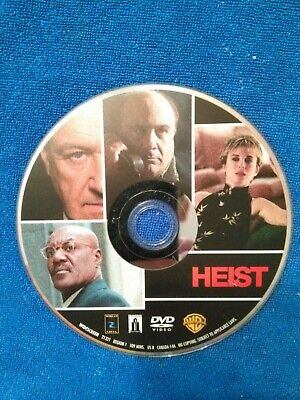 heist dvd disc only no tracking!!!