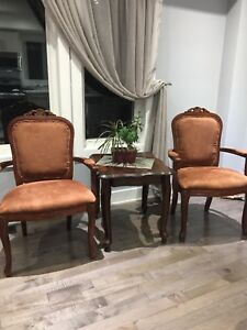 Two brand new antique chairs for sale