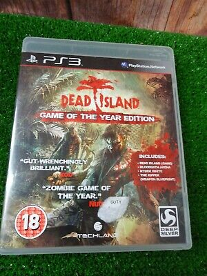 PS3 - Dead Island Game Of The Year Edition playstation 3  for sale  Shipping to Nigeria