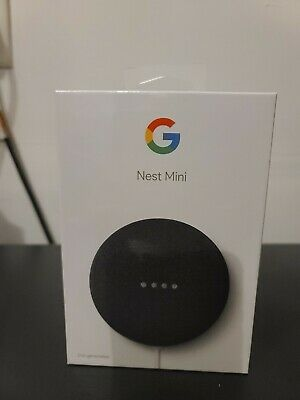 Google Nest Mini (2nd Gen) Smart Speaker - Charcoal -  GA00781-US   FREE SHIP