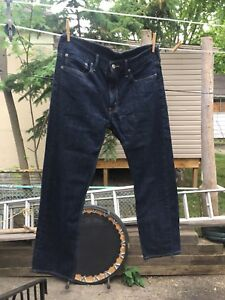 Levi's blue jeans 34x30 work once