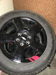 Brand new rims and rubber