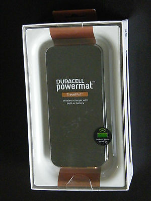 Duracell Powermat POWER BANK TravelMat Back-up Battery/Wireless Charger, Resentful