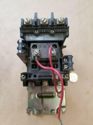 A-B/Allen-Bradley 509-BOD/509-B0D/595-A Contactor/Aux Contact