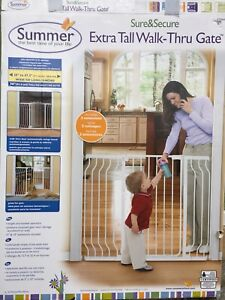 Summer Infant Sure&Secure Extra Tall, walk through gate