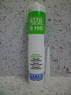 04 Fliesen (Ottoseal S105 310 ml Das alternative Sanitär-Silicon für Fliesen Silikon-Fuge)