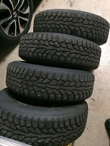 195/65R15 studded tires on civic rims