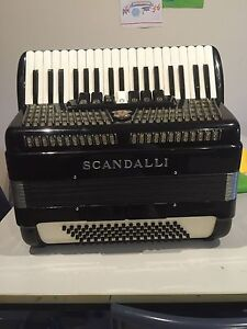 Scandalli 80 Bass Piano Accordion Castle Hill The Hills District Preview