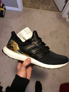 Adidas UltraBoost 2.0 Gold Medal Pack Size 11.5 DS