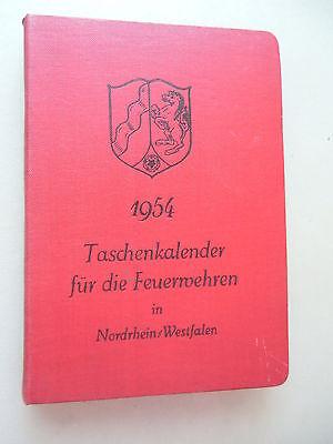 Taschenkalender für die Feuerwehren 1954