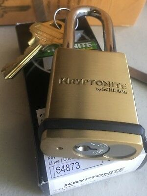 Schlage Kryptonite Padlock With Everest Primus 6 Pin Cylinder