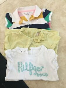 3 shirts for baby girl 6-9 months