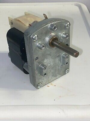 2 Merkle Korff 3724-up-350 Gear Motor 2.3 Amps 115v Good Condition 28 Rpm