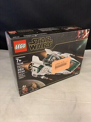LEGO Star Wars: The Rise of Skywalker Resistance A Wing Starfighter 75248 SEALED