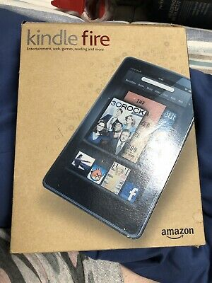 Amazon Kindle Fire (1st Generation) 7in Display With Box