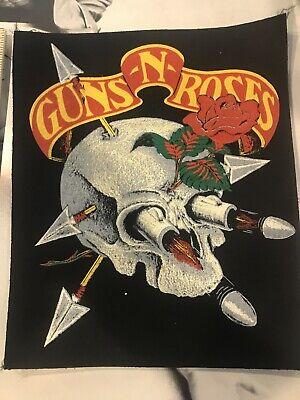 Guns N Roses Vintage Backpatch Large