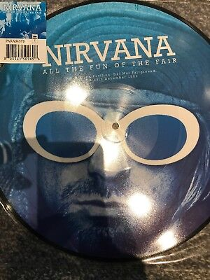 """Nirvana """"All The Fun Of The Fair"""" Vinyl LP Picture Disc -  BRAND NEW"""