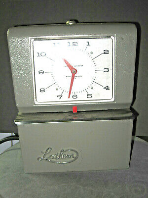 Lathem 4006 Automatic Time Clock Mon Day 0-23hrs