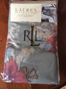 Never used Ralph Lauren king size pillow cases - Shetland Floral