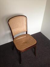 Single wooden framed rattan/wicker topped dining chair Port Augusta Region Preview