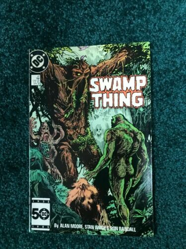 Swamp Thing - # 47 - Parliament of Trees !! - Alan Moore