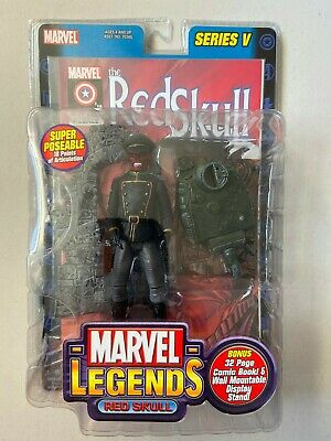 "Marvel Legends 6"" Action Figure RED SKULL Variant Series 5 BRAND NEW"