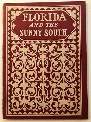 1899 Clyde Steamship Line to Florida & Sunny South