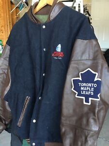 Maple Leafs Bomber Jacket