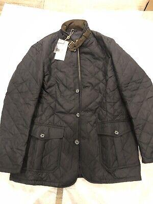 Brand New Barbour Lutz Quilt Jacket Mens XL Navy