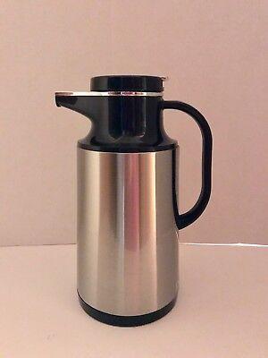 (Thermos Carafe Hot Beverage Coffee Allgo Brand 1 Liter # HPS-101)