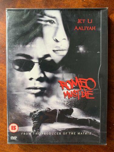 Romeo+Must+Die+DVD+2000+Jet+Li+Martial+Arts+Movie+in+Snapper+Case+BNIB