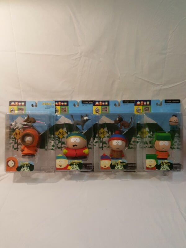 Mirage South Park Lot Of 4 Kyle, Kenny,  Stan,  Cartman.
