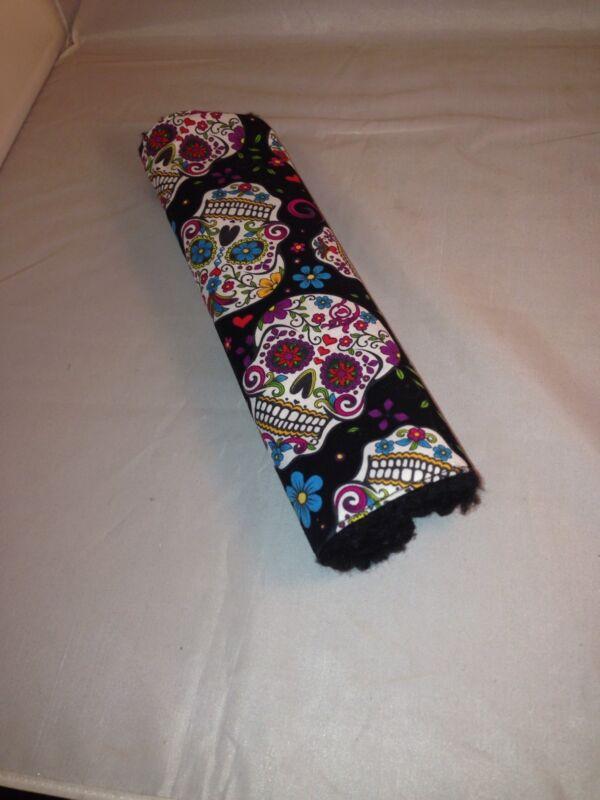 Sugar Skull Dia de los Muertos Day of the Dead Seatbelt Cover