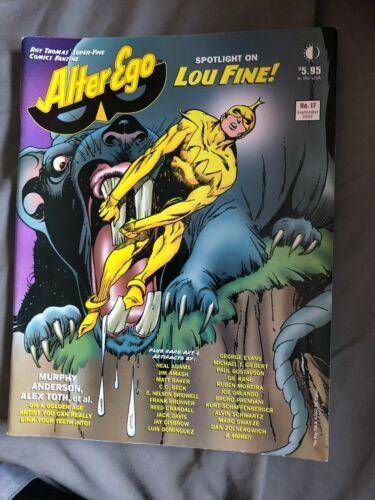 Fanzine ALTER-EGO #17 - Septem,ber 2002 Spotlight on Lou Fine + Arnold Drake