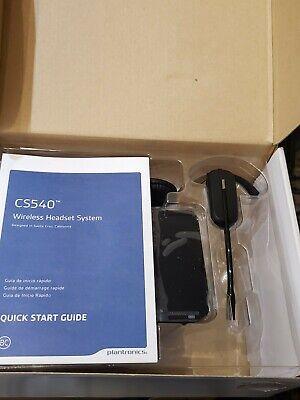 Plantronics CS540 Wireless Headset (84693-01) Black new.