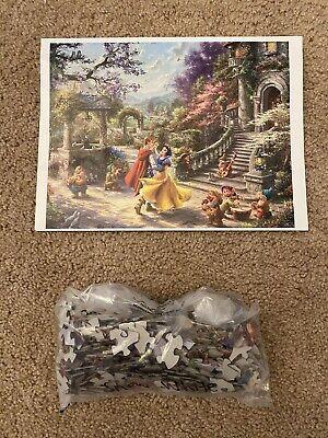 Thomas Kinkade Disney Puzzle - Snow White Dancing In The Sunlight X500
