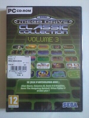 Sega Mega Drive Classic Collection Volume 3 PC CD Rom Sonic 3...