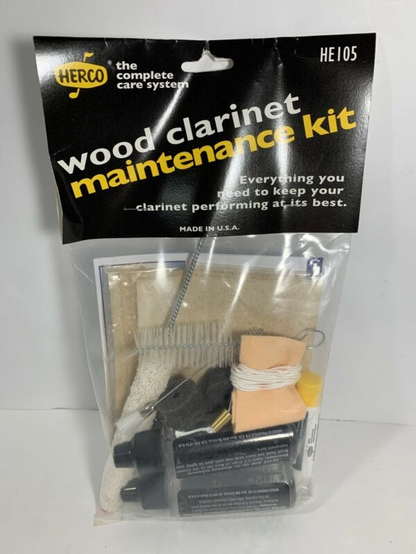 Herco HE105 Wood Clarinet Maintenance Cleaning Kit